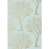 """Anna French tapetai """"Winfell forest"""" – Aqua"""