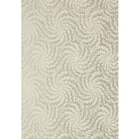 "Anna French tapetai ""Cirrus"" – Metallic Pewter on Neutral"