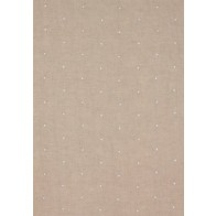 """Anna French audiniai """"Sheer Dot Embroidery"""" – Natural and White"""