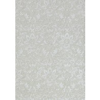 Thibaut tapetai Kalynn- Metallic Silver on Grey