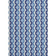 Thibaut audiniai TWISTED CHAIN - Blue & White