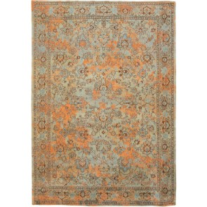 De Poortere - Kilimas -  Agra - Light Blue Orange