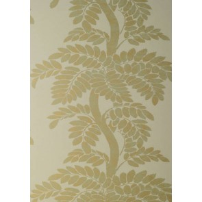 "Anna French tapetai ""Wisteria"" – Gold/Green on champagne"