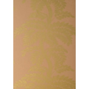 "Anna French tapetai ""Wisteria"" – Gold on Pale Pink"