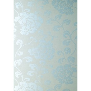 "Anna French tapetai ""Regal"" – Blue Mica on Silver"