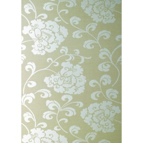 """Anna French tapetai """"Regal"""" – Silver Mica on Beige"""