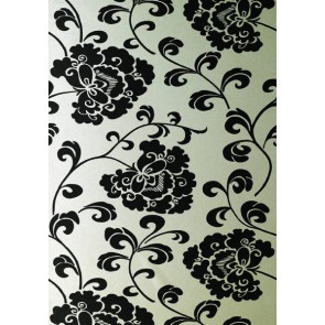 "Anna French tapetai ""Regal"" – Black on White Mica"