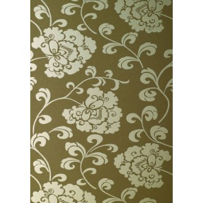 """Anna French tapetai """"Regal"""" – Gilver on Brown"""