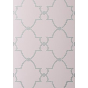 """Anna French tapetai """"Lucian"""" – Metallic on Lilac"""