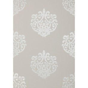 "Anna French tapetai ""Arran"" – Pearl on Light Taupe"