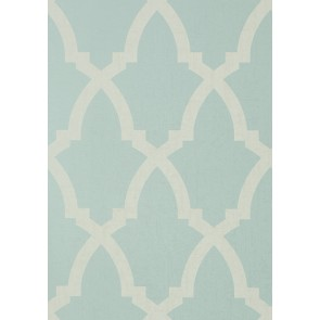 "Anna French tapetai ""Brock Trellis"" – Aqua"