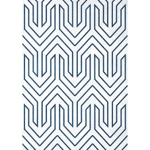"Anna French tapetai ""COLBURN CHEVRON"" – Navy"