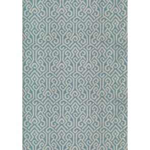 "Anna French audiniai ""River Moon Ikat"" – Aqua"