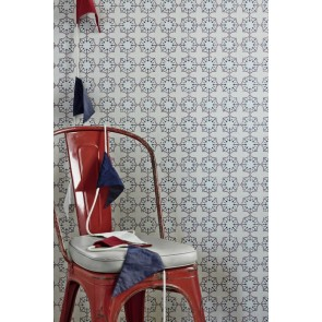 Barneby Gates tapetai Anchor Tile- Red / White / Blue
