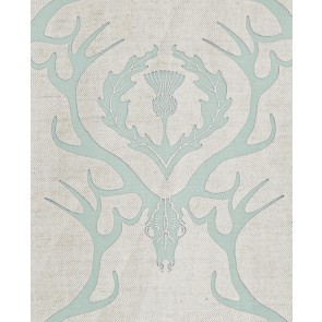 Barneby Gates audiniai Deer Damask - Duck egg
