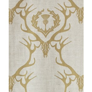 Barneby Gates audiniai Deer Damask - Gold