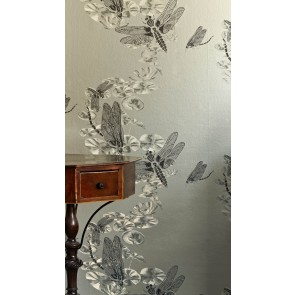Barneby Gates tapetai Dragonfly- Pewter