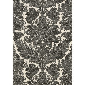 Arcadia tapetai Indore Damask- Charcoal