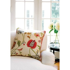 Thibaut audiniai CAYMAN EMBROIDERY – Cream