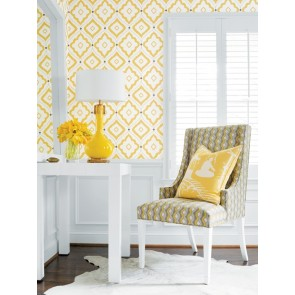 Thibaut audiniai TWISTED CHAIN - Yellow and Grey