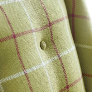 "Anna French audiniai ""Laurence Plaid"" – Apple Green"