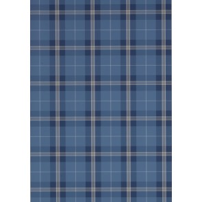 Thibaut tapetai WINSLOW PLAID  - Navy