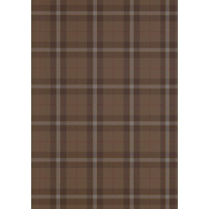 Thibaut tapetai WINSLOW PLAID  -Chestnut