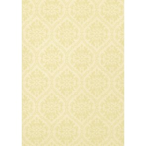 "Thibaut tapetai ""Bankun Damask"" – Celery on Cream"