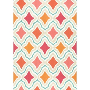 "Thibaut tapetai ""Cruising"" –  Orange and Pink"