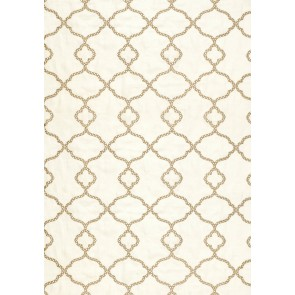 Thibaut audiniai GIBRALTAR EMBROIDERY – Off White