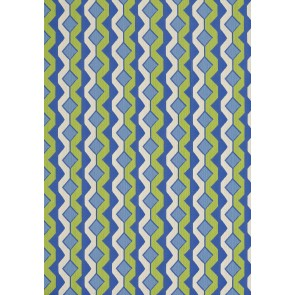 Thibaut audiniai TWISTED CHAIN - Green and Blue