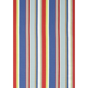 Thibaut audiniai BRIGHTON STRIPE  - Blue and Red