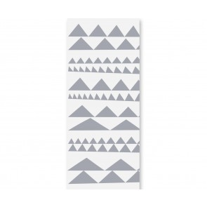 "Humpty Dumpty tapetai ""Geometry"" – Triangles Grey"
